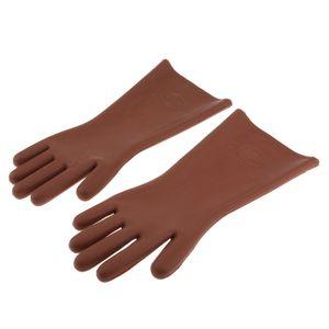 5KV Hochspannungs Gummi Elektrische Schutzhandschuhe Für Elektriker, 1 Paar