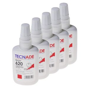 Gewindedichtmittel Selon 620 (5x 50 ml), mittelfest elastisch abdichten sichern