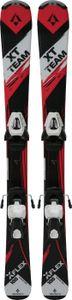 TECNOPRO Ki.-Ski-Set XT TEAM   CW 45 GW/LW 7 - 905 BLACK/ RED LIGHT / 120