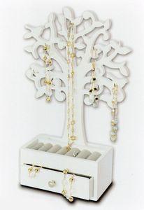 Schmuckbaum mit Schublade - 19,5x8,5x31 cm