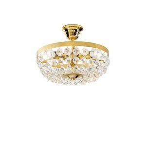 Kolarz Deckenleuchte Valerie 24 Karat Gold Handgefertigt in Italien