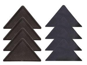 WOHNWOHL® Anti-Rutsch-Ecken für Teppiche 8er-Set