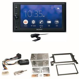 Sony XAV-V10BT Moniceiver Bluetooth USB Einbauset für Suzuki Grand Vitara JT