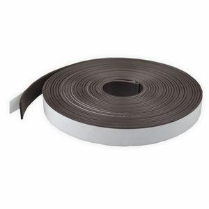 Creleo - Magnetband als Rolle 5 m x 1,25 cm selbstklebend und magnetisch
