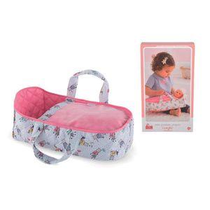 Corolle MPP Babytragetasche, Babypuppe Zubehör, Tragekorb, Tragetasche, für 30 cm Puppen, 9000110160