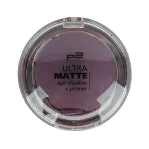 P2 Make-up Augen Lidschatten Ultra Matte Eye Shadow Primer 833391, Farbe: 040 purple clutch, 24 g