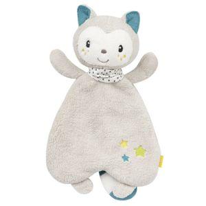 Fehn Aiko & Yuki kuschelige Decke Kätzchen 30 cm grau