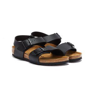 Birkenstock Schuhe New York Kids BF Black, 187603, Größe: 28