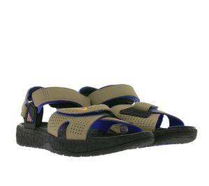 NIKE ACG AIR DESCHUTZ Sandalen komfortable Halbschuhe mit Nike Logo Khaki , Größe:38 1/2