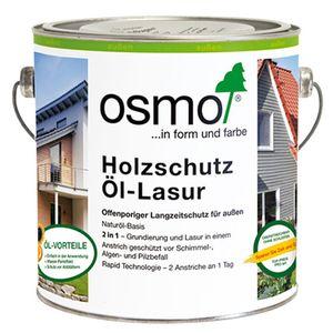 Osmo Holzschutz Öl Lasur farblos matt für den Außenbereich 2500ml