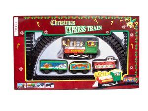 Weihnachtszug Deko Eisenbahn - Christmas Express Train