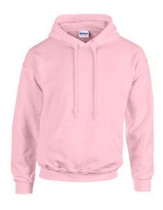 Heavy Blend Hooded Sweatshirt / Kapuzenpullover - Farbe: Light Pink - Größe: XL