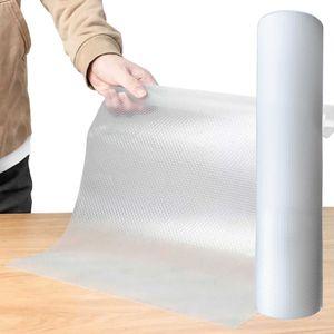 Antirutsch Einlage Schubladeneinlage genoppt Schubladenmatte schützend Transparent - Milchig 45x500 cm