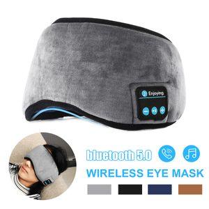 bluetooth 5.0 Schlafmaske Augenmaske Kopfhörer Musik Schlafhelfen Hypnose Brille