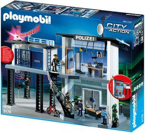 Playmobil 5176 Polizei-Kommandostation mit Alarmanlage