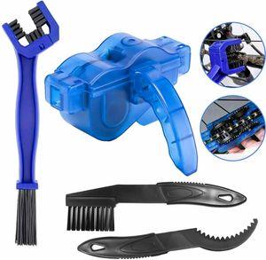 Fahrradkettenreiniger Kettenreinigungsgerät Fahrrad Ritzel Reinigung Bürste Kit