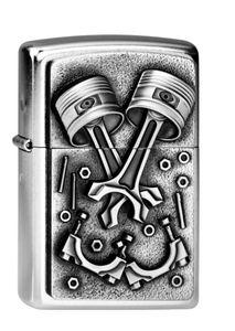 Zippo Feuerzeug  Engine Parts Emblem 2003987