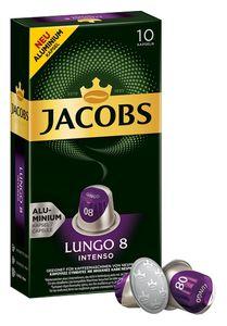 Jacobs Lungo Intenso | 10 Nespresso® komp. Kapseln