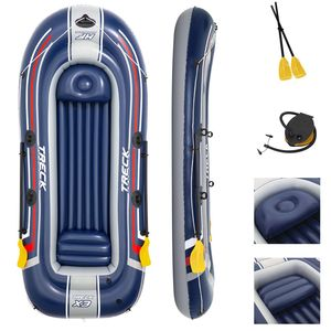 Bestway 61110, Reisen/Erholung, Aufblasbares Boot, Mehrfarben, PVC, 4 Person(en), 270 kg