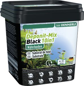 Dennerle Deponit-Mix Black 10in1 - Multimineral Nährboden für Aquarien