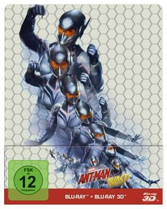 BluRay 3D - Ant-Man and the Wasp 3D & 2D Steelbook