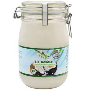 Kokosöl - nativ & kaltgepresst - 1000 ml/Bügelglas (100ProBio)