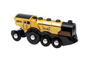 BRIO Goldene Batterielok mit Licht und Sound
