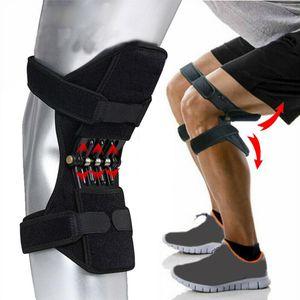 Knieschützer Joint Support Knieschützer Breathable Anti-Rutsch-Power Lift Knieschützer Zugstufe Federkraft Knie Booster Beinschützer