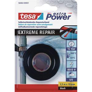 Tesa extra Power Extreme Repair schwarz Reparaturband 2.5m x 19 mm
