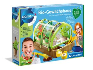 Clementoni 59237 Play for Future GalileoGewächshaus, Experimenti