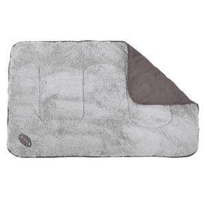 Cosy Hundedecken Farbe: grau Gr. 110 x 72 cm ideal als Schondecke für Körbchen, Möbel und Autositzen