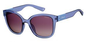 Polaroid sonnenbrille 4070/S/XPJP/JR Damen gradient blau/lila