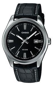 Casio Herrenuhr MTP-1302PL-1AVEF Armbanduhr Lederarmband