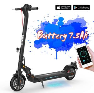 Elektroscooter M5- mit Straßenzulassung/ABE, APP, 20 km/h, 8,5 Zoll  Anti-Rutsch-Reifen, schwarz  Elektro Cityroller, E-Tretroller, E-Roller, Elektro Tretroller Elektroroller, Futura E-scooter