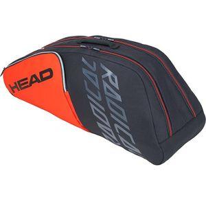 Head Radical 6R Combi Tennistasche Grau Orange