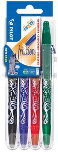 PILOT Tintenroller FRIXION BALL 07 Set2Go 4er Etui