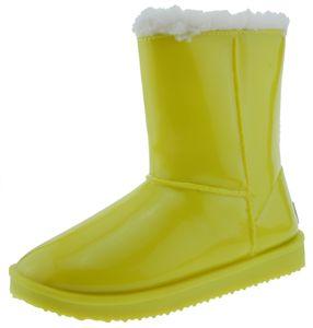 Nat-2 Rain Sheep warm gefütterte Gummistiefel gelb, Groesse:37.0