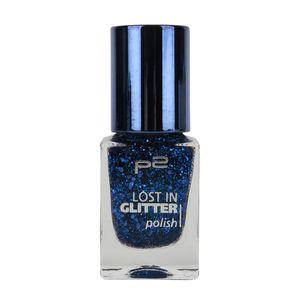 P2 Nägel Nagellack Nagellack Lost In Glitter Polish 833865, Farbe: 100 think big!, 10 ml