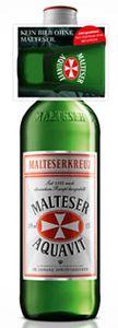 Malteserkreuz Malteser Aquavit mit Shot On-Pack | 40 % vol | 0,7 l
