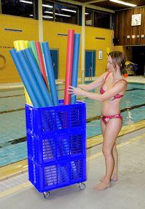 Sport-Thieme Aufbewahrungswagen Pool Noodle, 60x40x106 cm