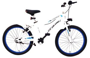 20 ZOLL Kinder Jungen FahrradKinderfahrrad Kinder Rad Bike BMX BELEUCHTUNG RÜCKTRITTBREMSE POWER WEISS