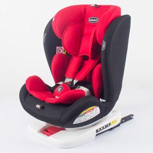 Kindersitz Autokindersitz Gruppe 0+1/2/3 (0-36 kg/0-12 Jahre) mit ISOFIX ECE R44/04 ROT