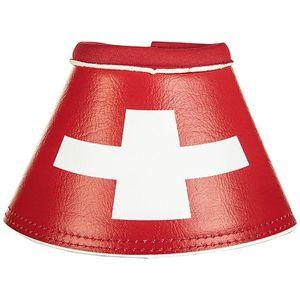 HKM Hufglocken -Flags-, Farbe:7902 Flag Swiss, Größe:Warmblut