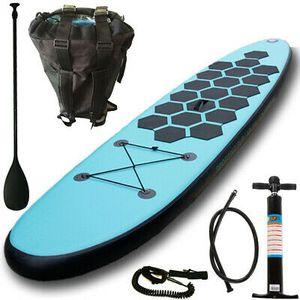 Aquaparx Sup Stand Up Paddle Board 305 Inflatable Isup Aufblasbar Paddel Aqua