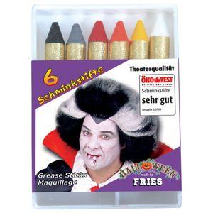 Fri -Schminke 6 Schminkstifte Halloween Karneval Fasching