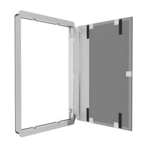 Profi Revisionstür Revisionsklappe patentiertes Türsystem befliesbar 600x800 mm