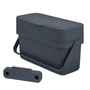 JOSEPH JOSEPH Kompostbehälter KUNSTSTOFF Küchenkomposter Graphitgrau 4 l