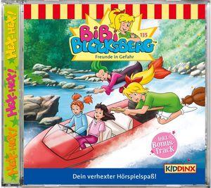 Bibi Blocksberg - Folge 135: Freunde in Gefahr - CD