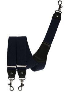 Extra starker Hosenträger mit Karabinerhaken, Größen:120 cm, Farben:marine