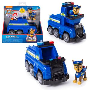 Ultimate Rescue | Auswahl Fahrzeuge mit beweglicher Spiel-Figur | Paw Patrol, Figur:Chase Polizeiauto